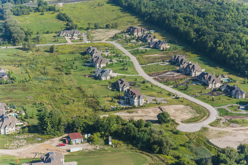 Barclay5-Fieldstone-Estates-Aerial