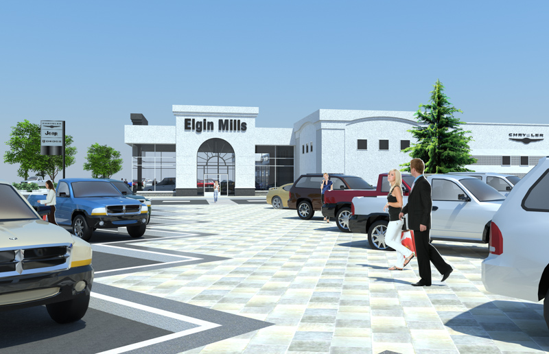 Elgin-Mills-2-Crysler-Dealership-Render