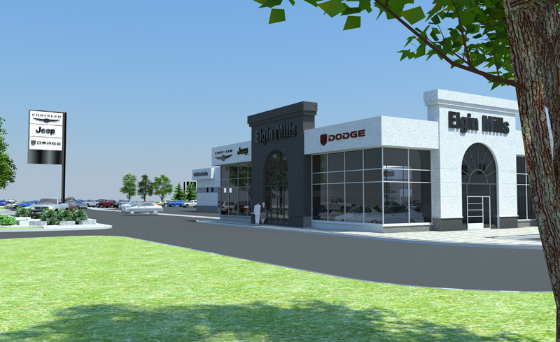 Elgin-Mills-3-Crysler-Dealership-Render