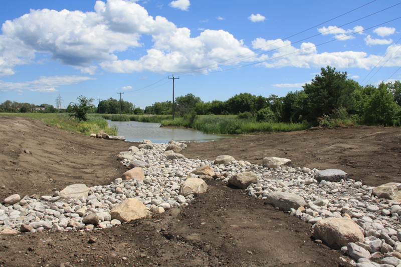 Nichol-Ave-4-Storm-Pond-Wetland-Construction